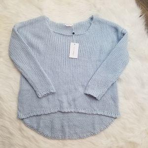 Lovers + Friends Baby Blue Sweater